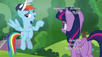 """Rainbow """"cheer squad is totally important"""" S9E15"""