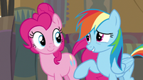 "Rainbow Dash ""you shouldn't give up hope"" S7E18"