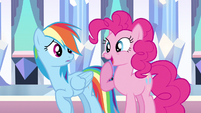 Rainbow Dash joke ruined S3E1