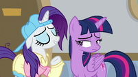 "Rarity ""Flim and Flam are up to no good"" S8E16"
