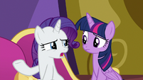 "Rarity ""used to having Spikey-Wikey around"" S9E19"