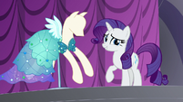 "Rarity ""you might possibly wear this tonight"" S5E14"