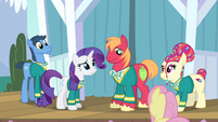 Rarity 'Whatever did you do to cause this' S4E14