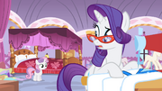 Rarity -But I work well under pressure- S4E19