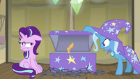 "Trixie ""you don't have to sleep in it"" S8E19"