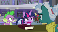 """Twilight Sparkle """"don't pull any punches"""" S9E5"""