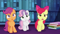 Apple Bloom worried --oh, no!-- S6E19