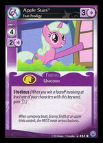 Apple Stars, Fruit Prodigy card MLP CCG