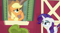 Applejack thinking for a moment S6E10