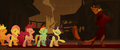 Capper and ponies strut down red carpet MLPTM.png