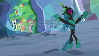 "Chrysalis ""most powerful beings in Equestria"" S9E25"