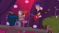 Flash Sentry and band playing at Fall Formal EG.png