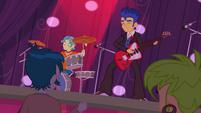 Flash Sentry and band playing at Fall Formal EG