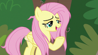 "Fluttershy ""her neck is feeling better"" S9E18"