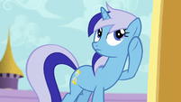 Minuette listening for sounds S5E12