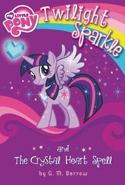 Nueva portada de Twilight Sparkle and the Crystal Heart Spell
