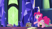 "Pinkie Pie ""being trapped for all time"" S7E25"