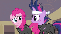 Pinkie Pie and Twilight concerned 2 S2E20