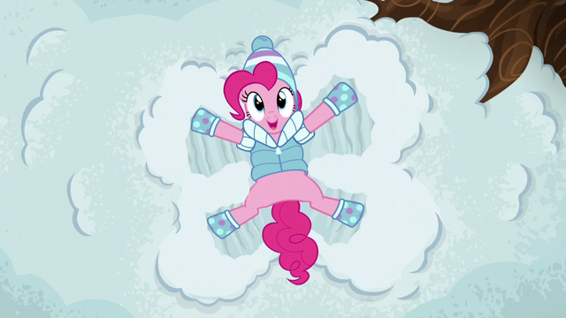 File:Pinkie Pie making a snow angel S5E5.png