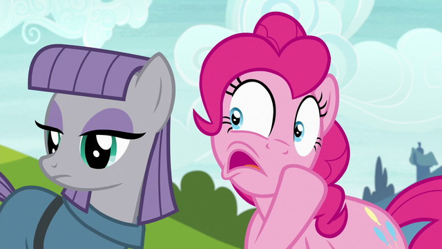"File:Pinkie whispers to Maud ""offer to help"" S7E4.png"