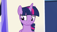 Princess Twilight flattered by Sci-Twi's words EGSB