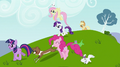 Rainbow Dash's friends with their pets S2E07.png