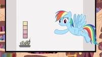 Rainbow Dash at 910 WP S2E22