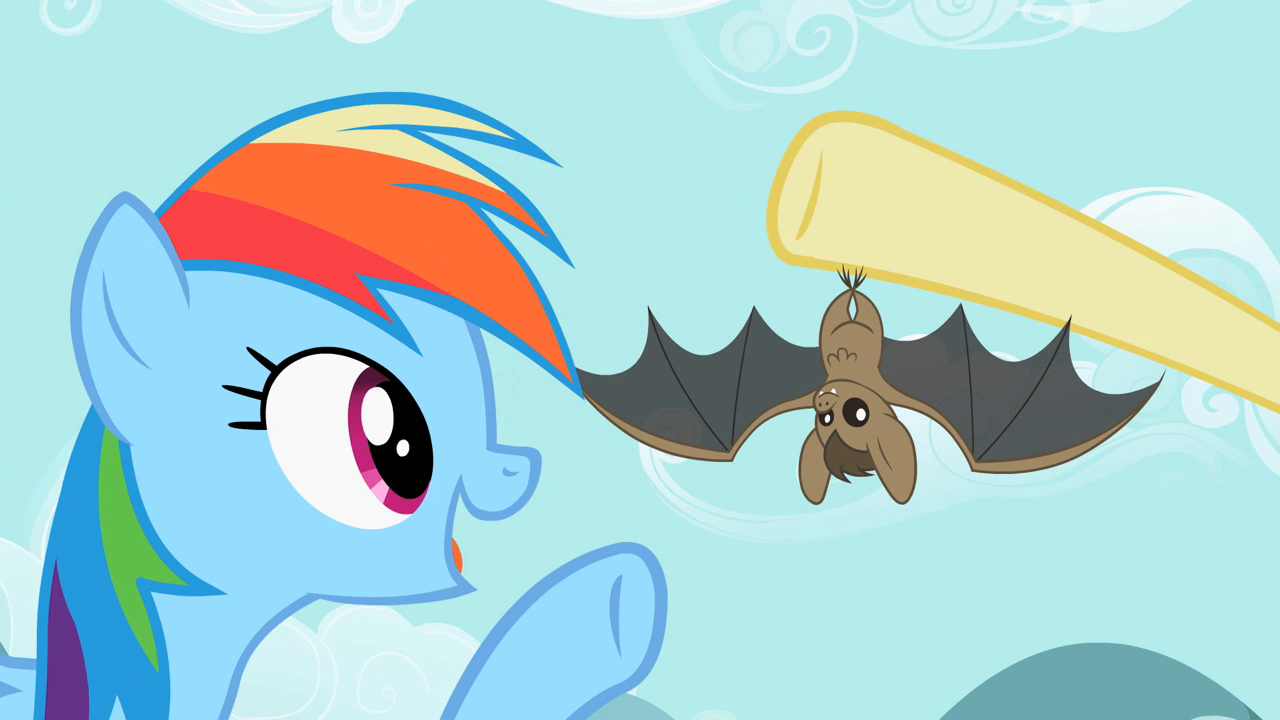 https://vignette.wikia.nocookie.net/mlp/images/0/09/Rainbow_Dash_pointing_at_the_bat_S2E07.png/revision/latest?cb=20121027171027