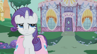 Rarity rolls eyes S01E10