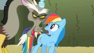 S02E01 Discord rozmawia z Rainbow