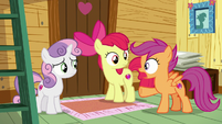 "Scootaloo ""one at a time takes forever"" S7E21"