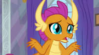 "Smolder ""dragons can be kind of rough"" S9E9"