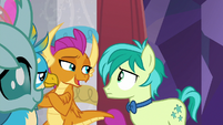 "Smolder ""she's gone full pony"" S9E7"