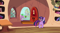 Spike, Twilight, and Owlowiscious S03E11