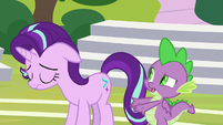 Spike -probably made things worse- S8E15