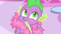 Spike blushes S4E23