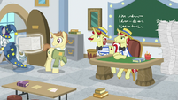 Star Swirl leaves with more worksheets S8E16