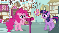 Twilight 'Well if you're so worried' S3E07