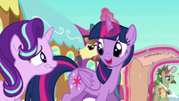 Twilight --get to the castle with enough time-- S6E1