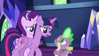 "Twilight Sparkle ""find the friendship problem"" S7E15"