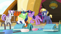 Twilight slaps Shining Armor on the back S7E22.png