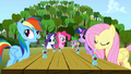 5 main ponies and Spike S01E04.png