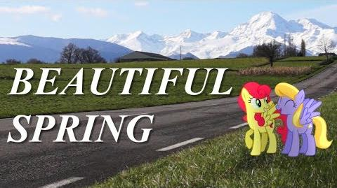 Beautiful Spring - MLP in Real Life Music Video-1436039371