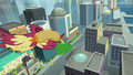 Bird with a hot dog S4E08.png