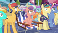 Crystal Ponies hear Shining Armor S6E2.png