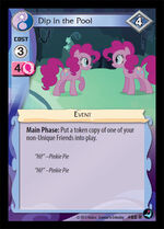 Dip in the Pool card MLP CCG