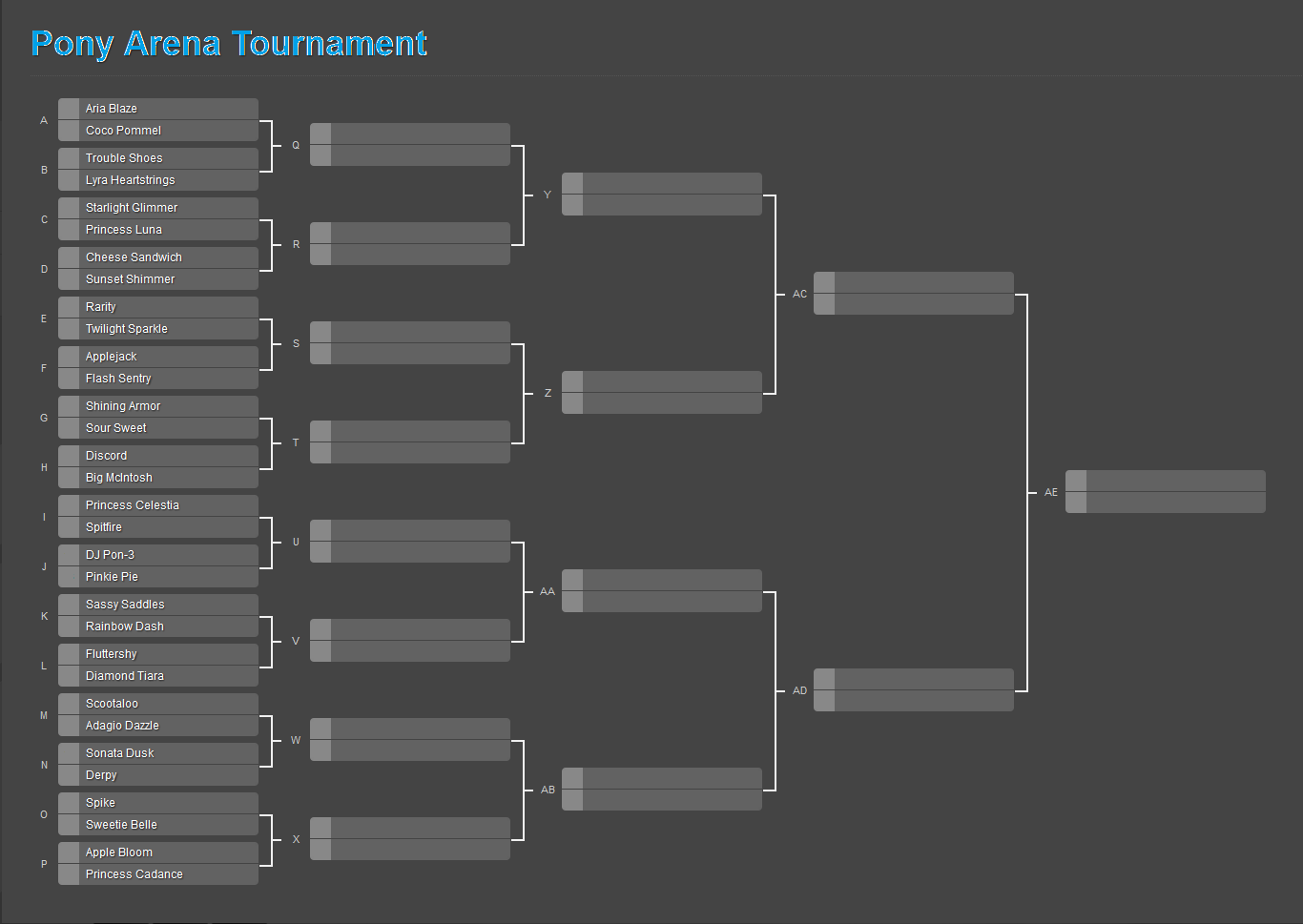 make your own tournament bracket
