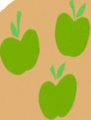 Fake Applejack cutie mark crop S8E13