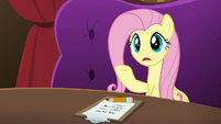 Fluttershy --you could work out your differences-- S6E20