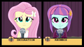 Fluttershy and Sunny Flare in spelling bee EG3.png
